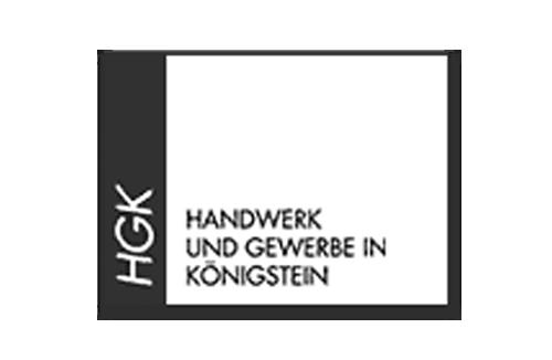Zusammenarbeit: HGK (Handwerk und Gewerbe in Königstein) | 2SINN GmbH | Kommunikation und Marketing | Agentur für Werbung