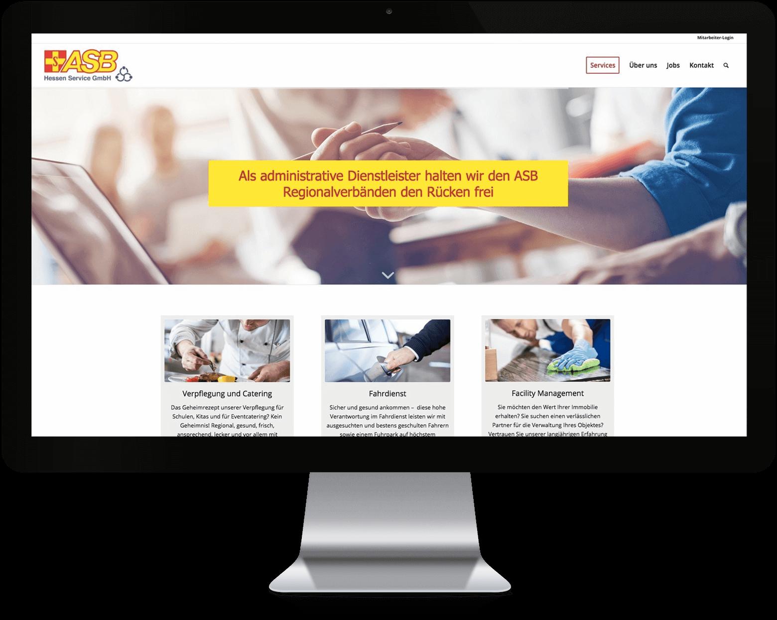 Portfolio: Arbeiter Samariter Bund (ASB) | 2SINN GmbH | Kommunikation und Marketing | Agentur für Werbung