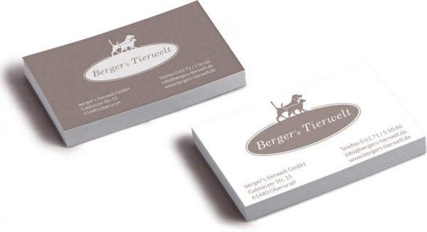 Portfolio: Berger's Tierwelt | 2SINN GmbH | Kommunikation und Marketing | Agentur für Werbung