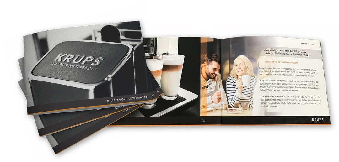 Portfolio: Krups | 2SINN GmbH | Kommunikation und Marketing | Agentur für Werbung